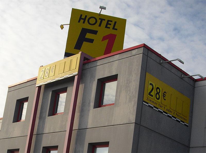 4 Hotels F1 où loger à Lyon pour un séjour réussi